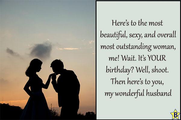 2 Romantic Happy Birthday Quotes with Couple