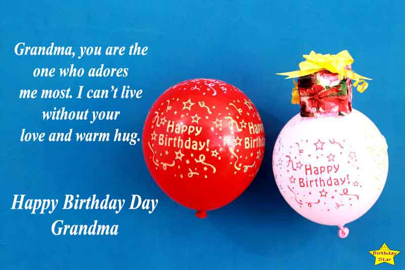 Grandma Birthday Quotes from Grandson