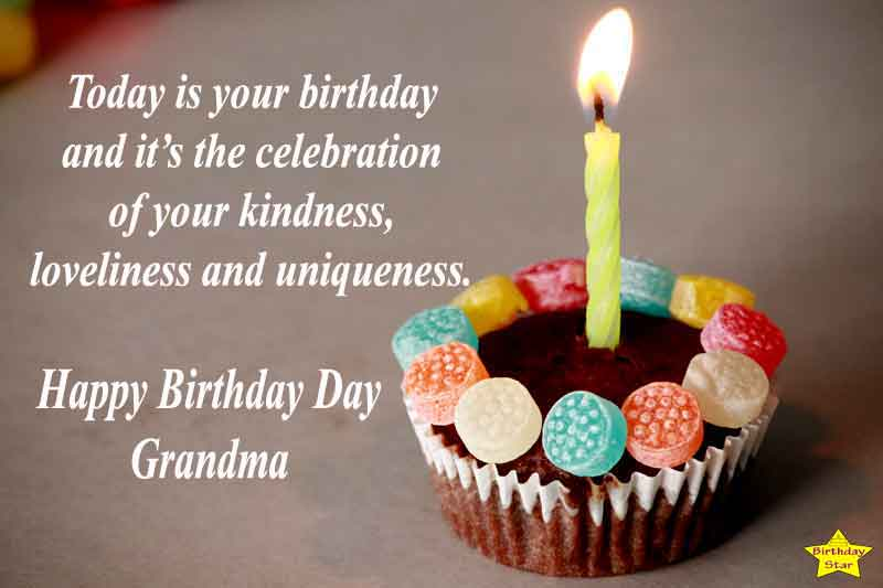 Today is your birthday and it's the celebration of your kindness, loveliness and uniqueness.