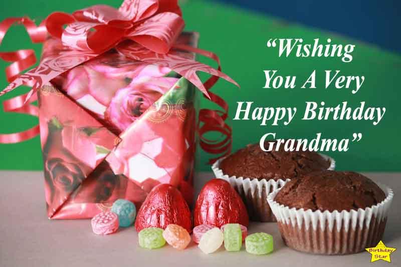 Wishing You A Happy Birthday Grandma.