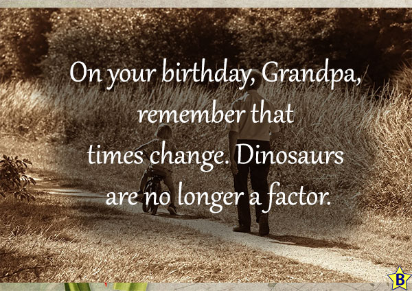 2 Happy Birthday Grandpa Quotes