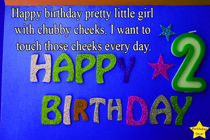 2nd birthday quotes for baby girl from father