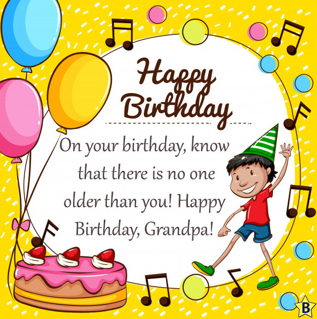 3 Happy Birthday Grandpa Wishes With Images