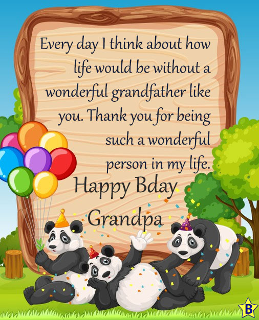 4 Happy Birthday Grandfather Wishes
