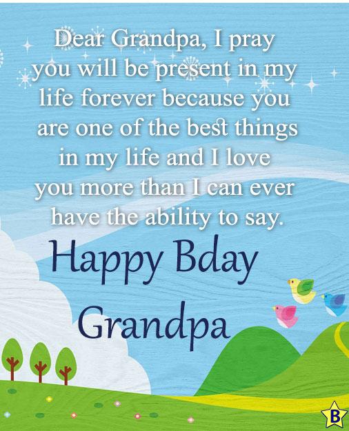 8 Birthday Images for Grandpa