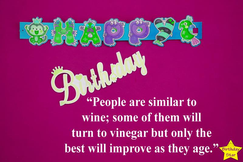 Amazing Inspirational Birthday Quotes