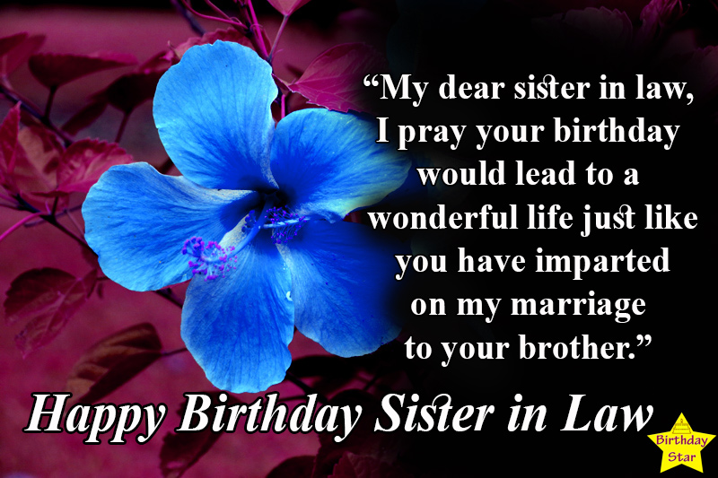 Best happy birthday quotes for sister in law