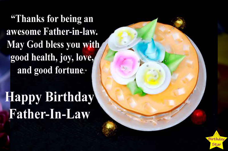 Birthday Quotes for Father in law