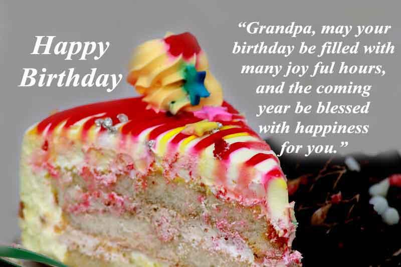 Birthday Quotes for Grandpa Heaven