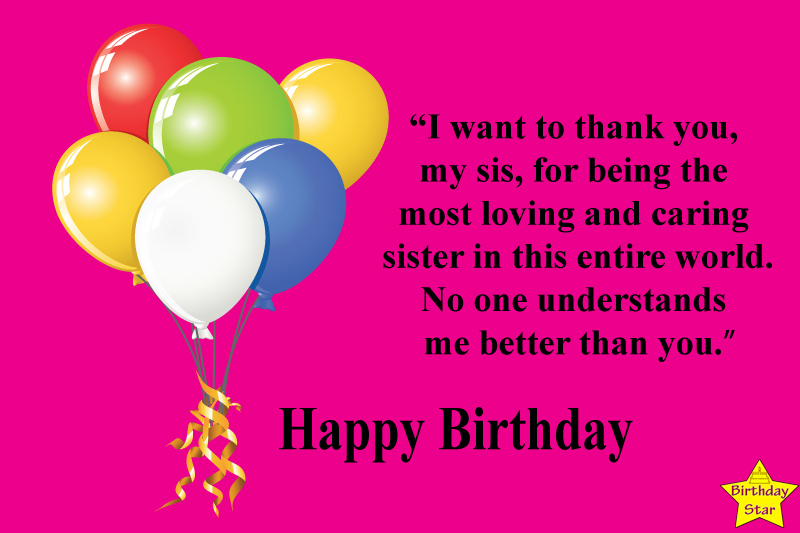 Happy Birthday Quotes for Elder Sister