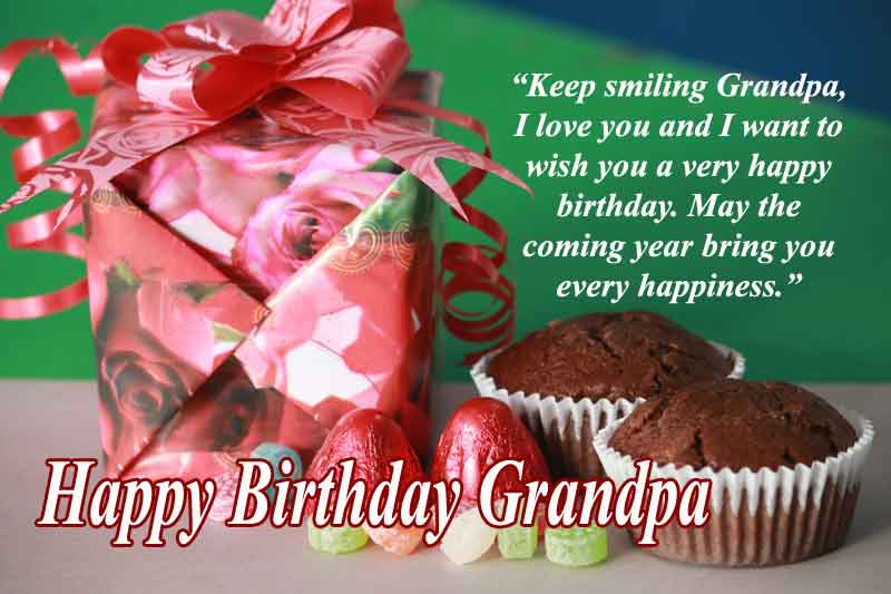 Happy Birthday Quotes for Grandpa