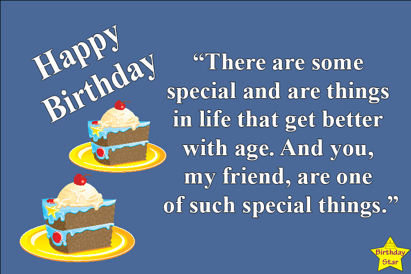 Happy birthday quotes male friend
