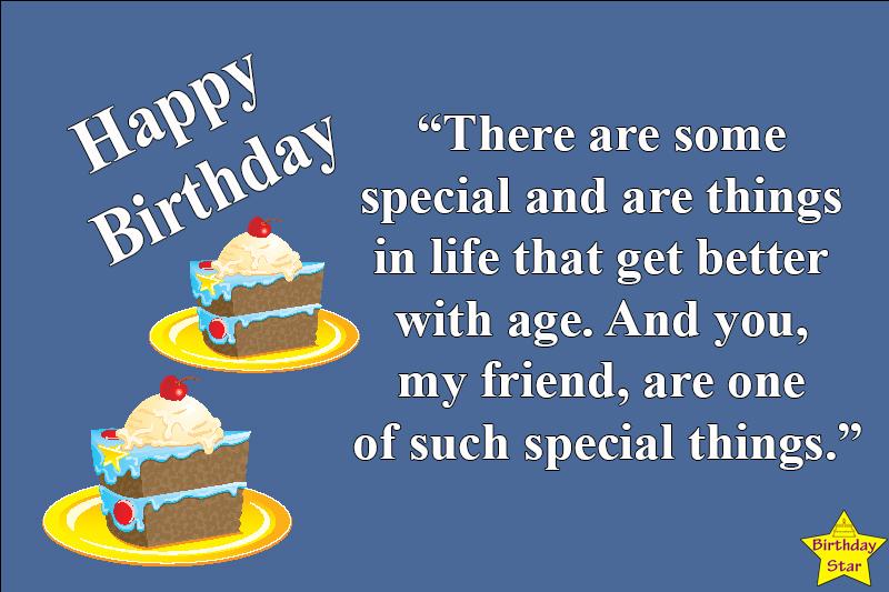 Happy birthday quotes male friend