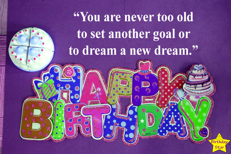 Short Inspirational Birthday Quotes