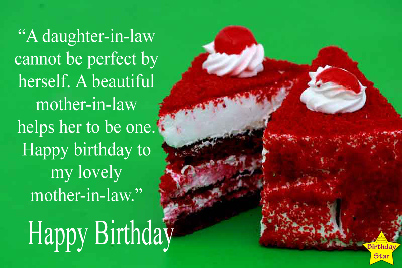 Sweet Happy Birthday Quotes for Mother In Law