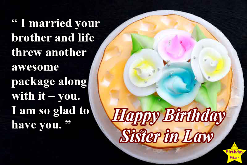 awesome birthday quotes for sister in law