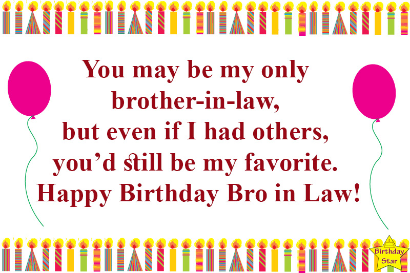 best birthday quotes for brother in law