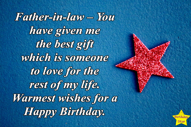best birthday quotes for father in law