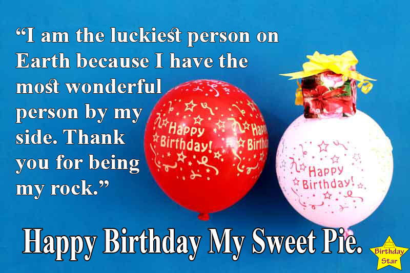 best birthday quotes for my love with balloons