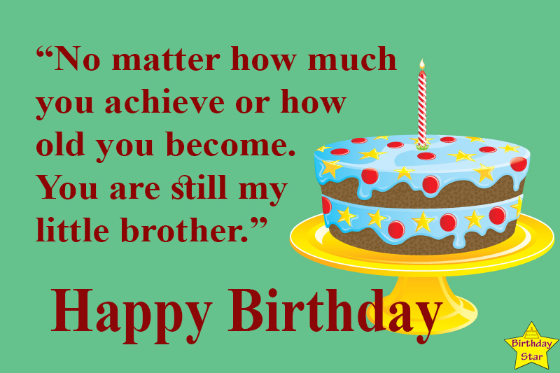 best birthday quotes for younger brother
