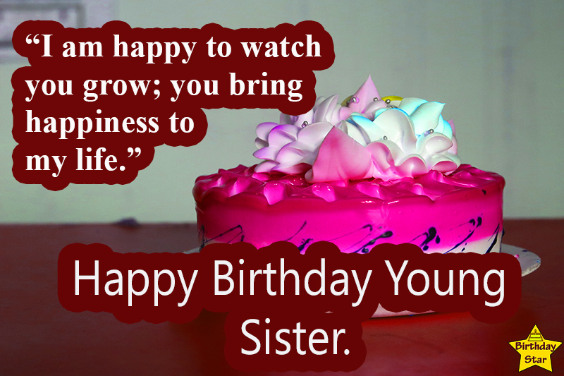 best birthday quotes for younger sister