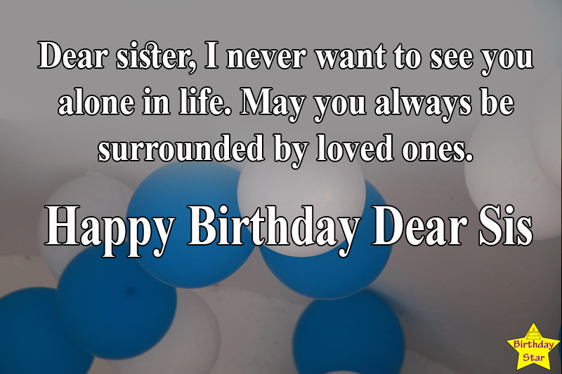 birthday quotes for elder sister from sister