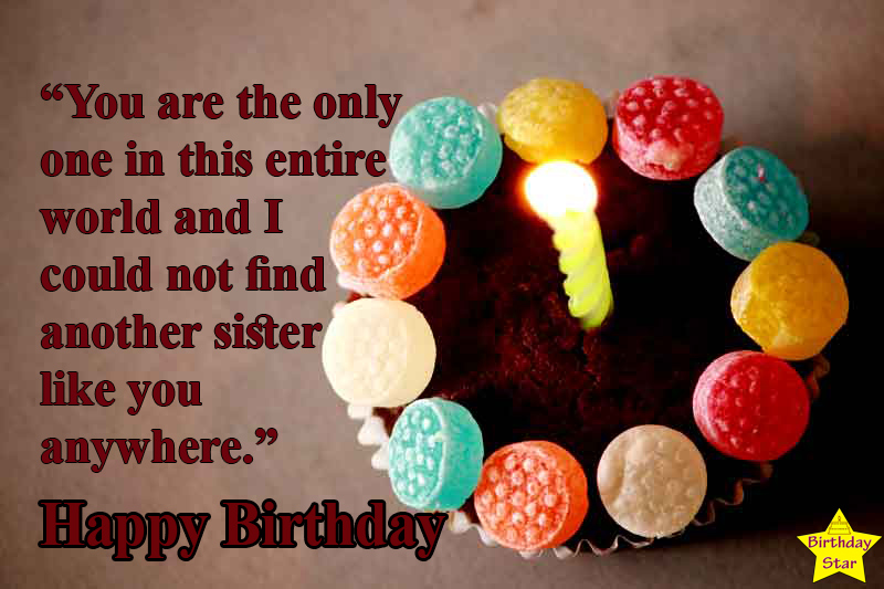 birthday quotes for elder sister in english