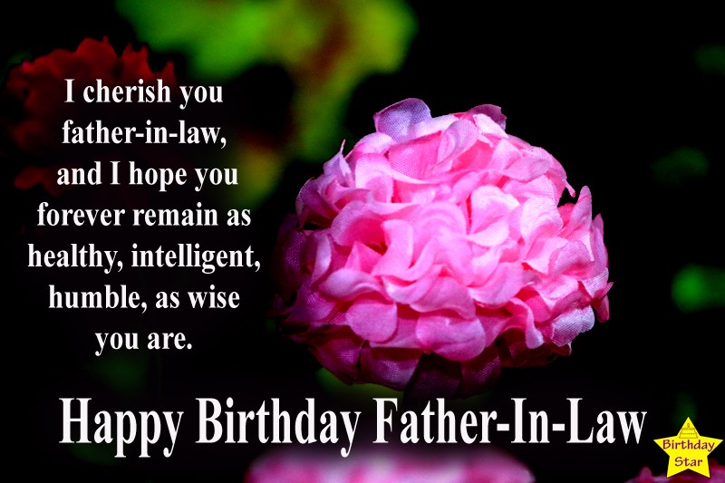 birthday quotes for father in law from daughter in law
