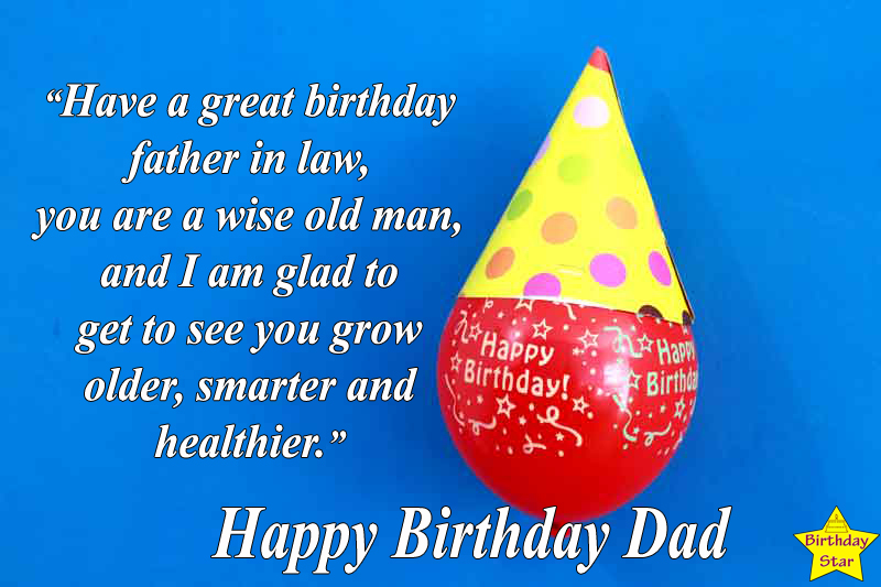 birthday quotes for father in law from son in law