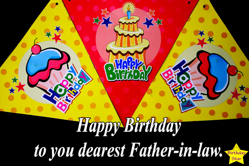 birthday quotes for father in law with cards