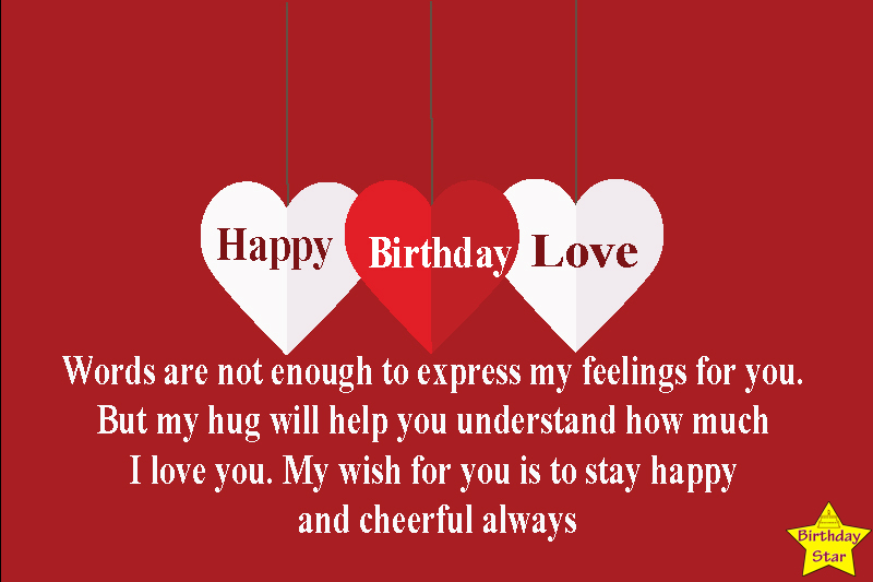 birthday quotes for my love one