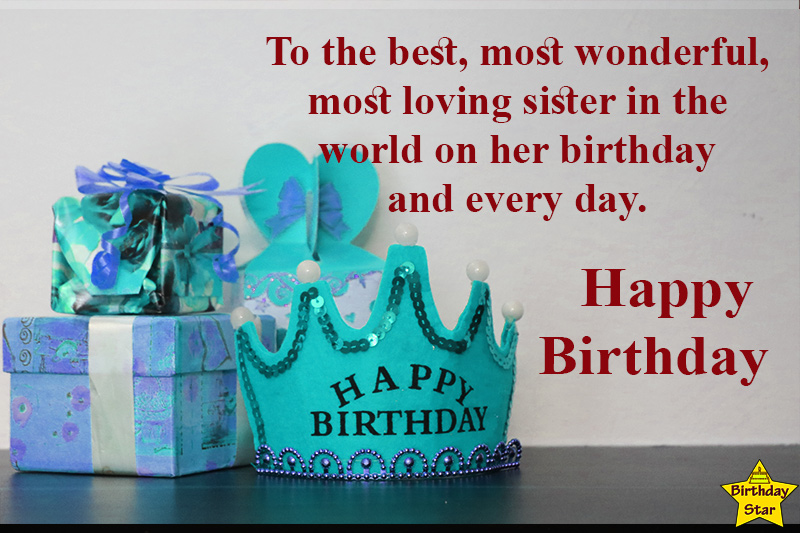 birthday quotes for younger sister with crown