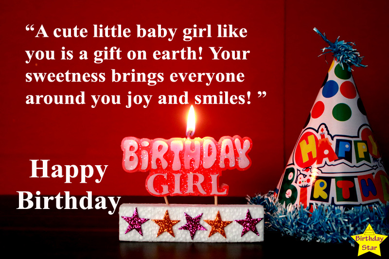 first birthday quotes for baby girl from mother