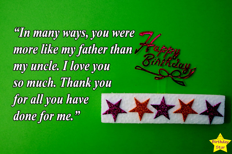 happy bday quotes for uncle