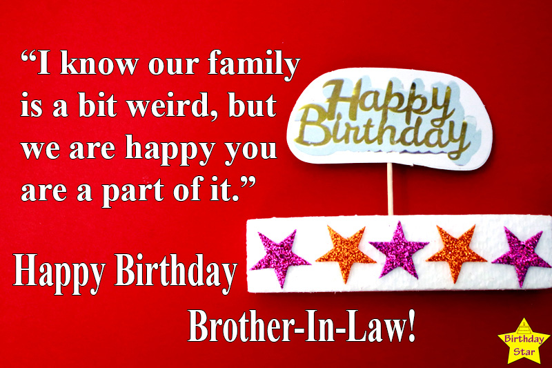 happy birthday images and quotes for brother in law