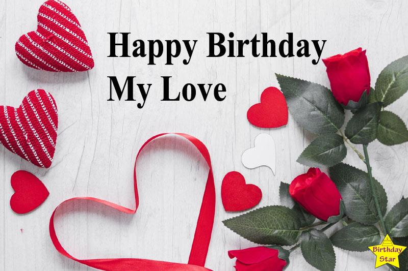 happy birthday my love pictures