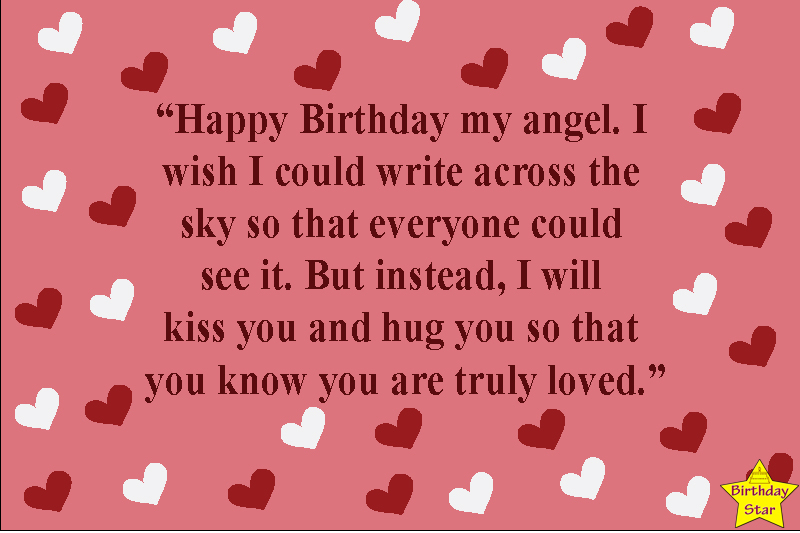 happy birthday my love quotes for girl