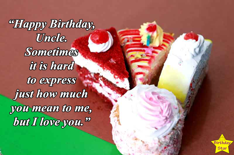 happy birthday quotes for a special uncle