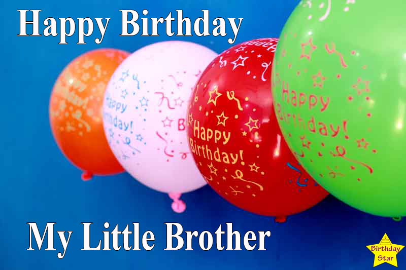 happy birthday quotes for little brother