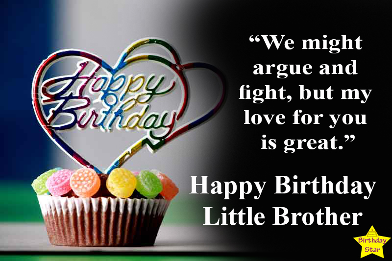 happy birthday quotes for my younger brother