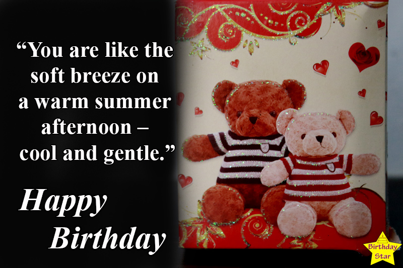 happy birthday quotes for sister in law with teddy