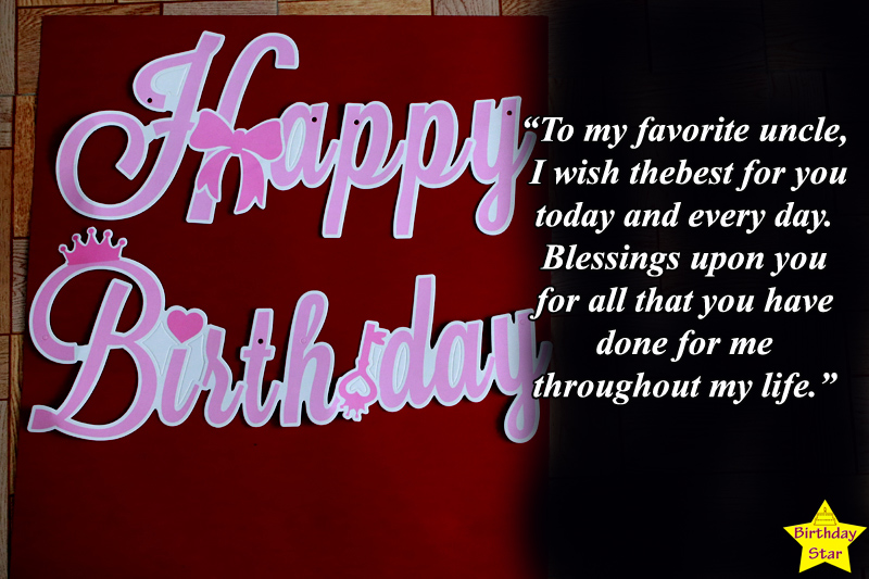 happy birthday quotes for uncle images
