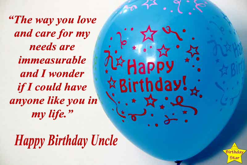happy birthday quotes for uncle in english