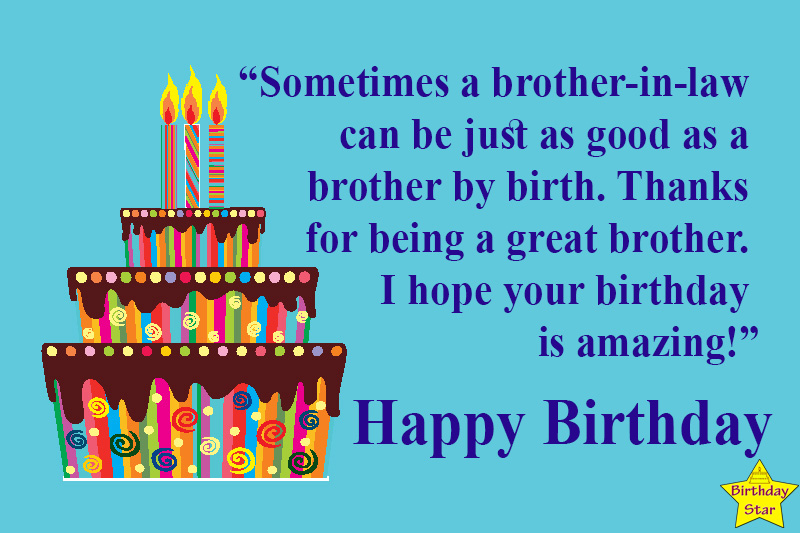 happy birthday quotes for your brother in law