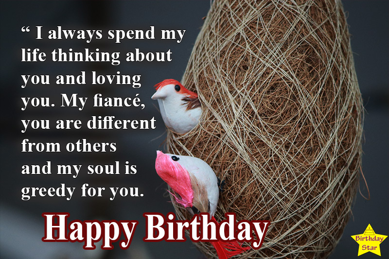 Best happy birthday quotes for fiance