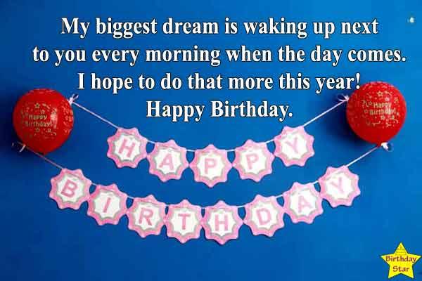 best Happy birthday wishes for boyfriend long distance