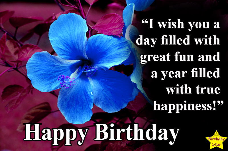 best birthday images with flowers and quotes
