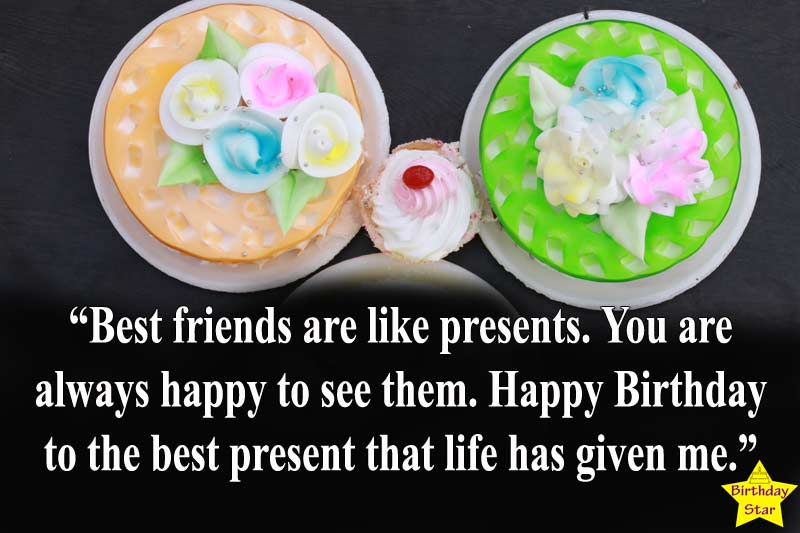 best happy birthday cake images with quotes for friend