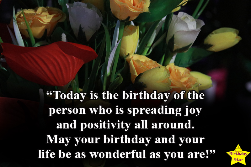 birthday images with flowers and quotes for girlfriend