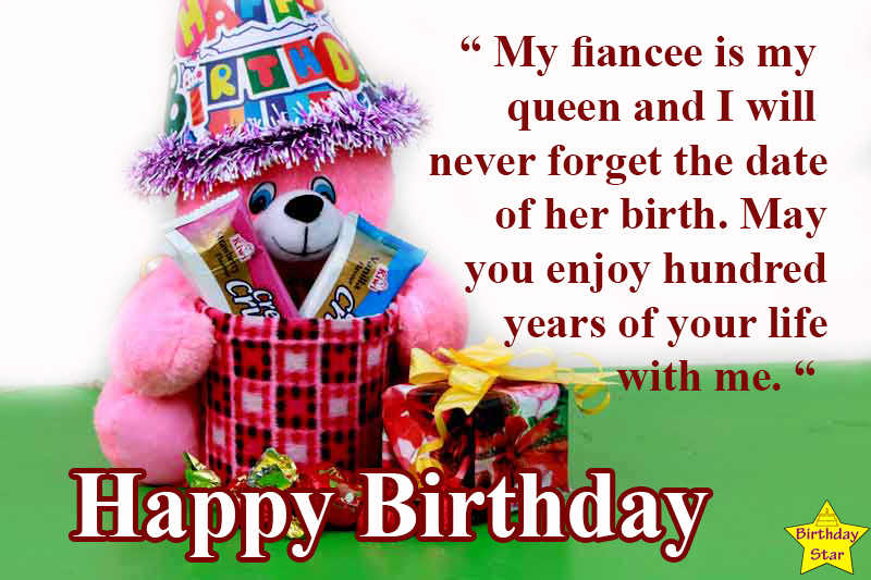 birthday quotes for fiance female lover